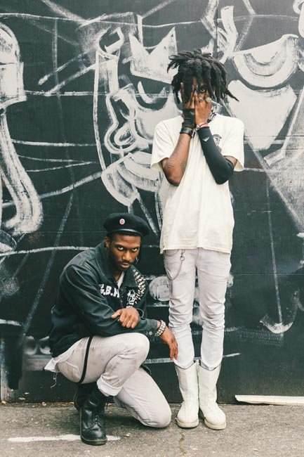 Interprétation du punk minimaliste noir et blanc (photo Drielys)