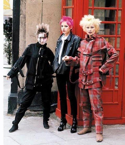 Vivienne Westwood, créatrice de mode et papesse du style punk (image: selvedgeyard.com)