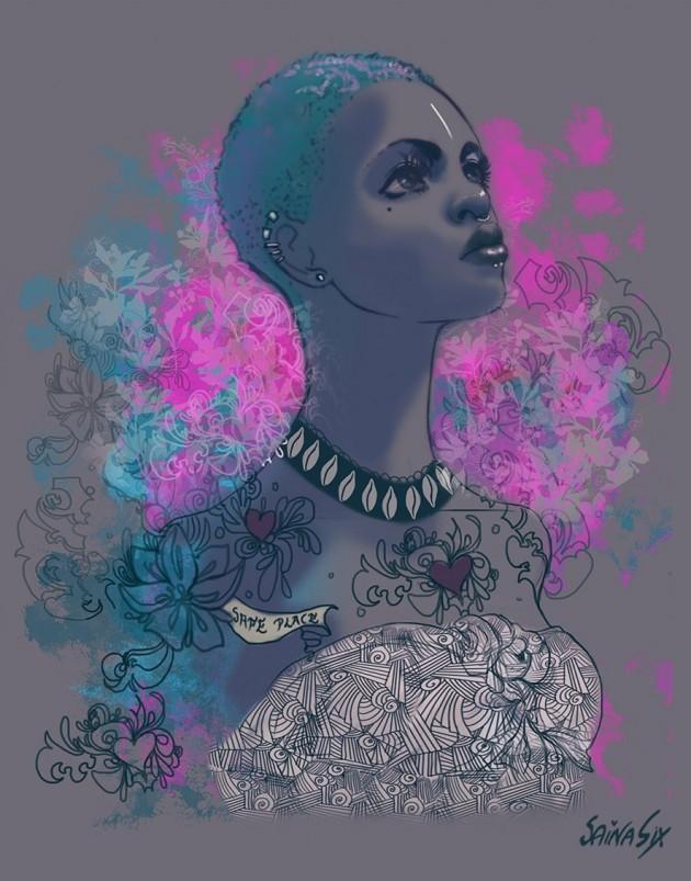 Illustration SainaSix